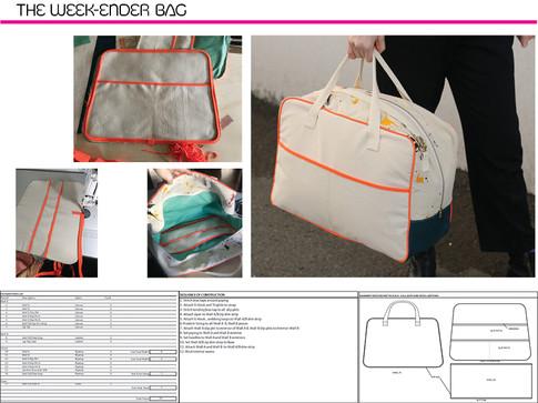 Week-Ender Bag Process