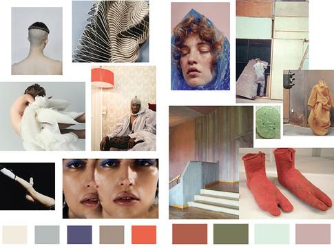 F/W 22 color palettes