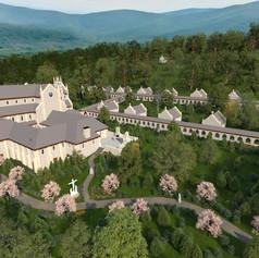 New Monastary and Church - Pennsylvania