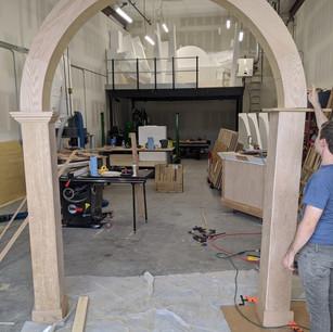 Large Scale Wood Veneered Environments