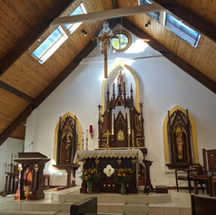 St. Scholastic Church Interior Renovation