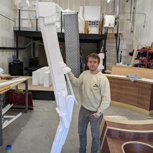 Large Scale Sculpture: Scout Walker Leg