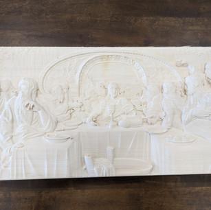 Detailed Wood Sculpture