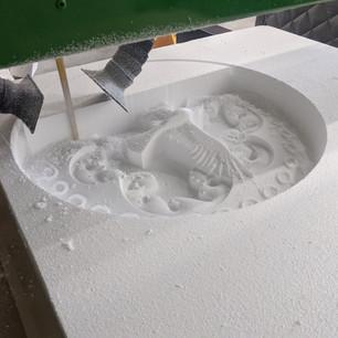 Detailed Concrete Molding Formwork