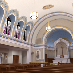 St. Anne Catholic Church, Interior Proposal