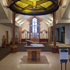 Interior renovation of St Mary Catholic Church Littleon, CO