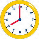 270334-Yellow-Clock-showing-8-00-color-p