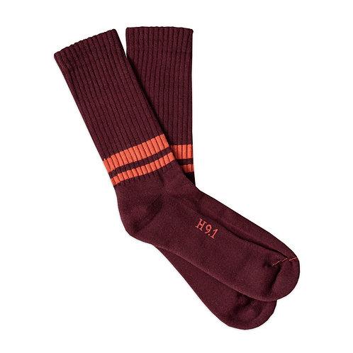 Bordeaux - Rust Stripes