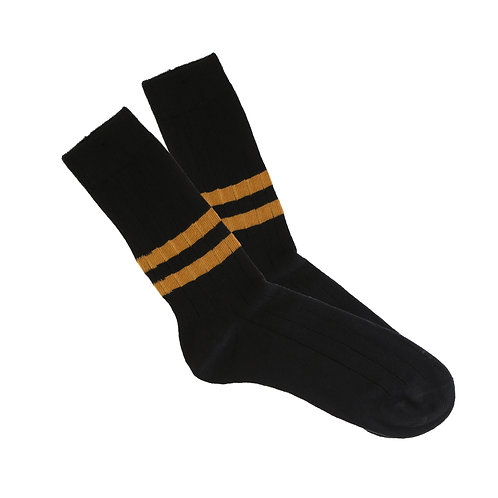 Black - Double Ochre Stripe