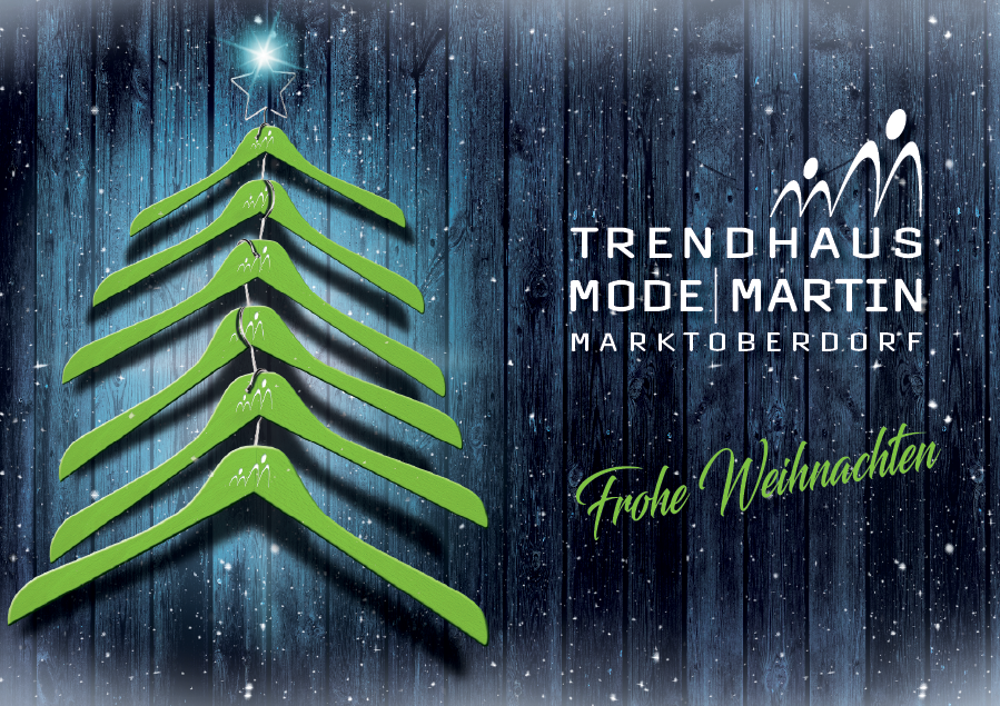 Modehaus Xaver Martin, Trendhaus, Weihnachten