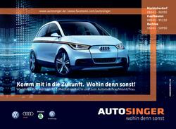 Autohaus Singer, Ausbildung