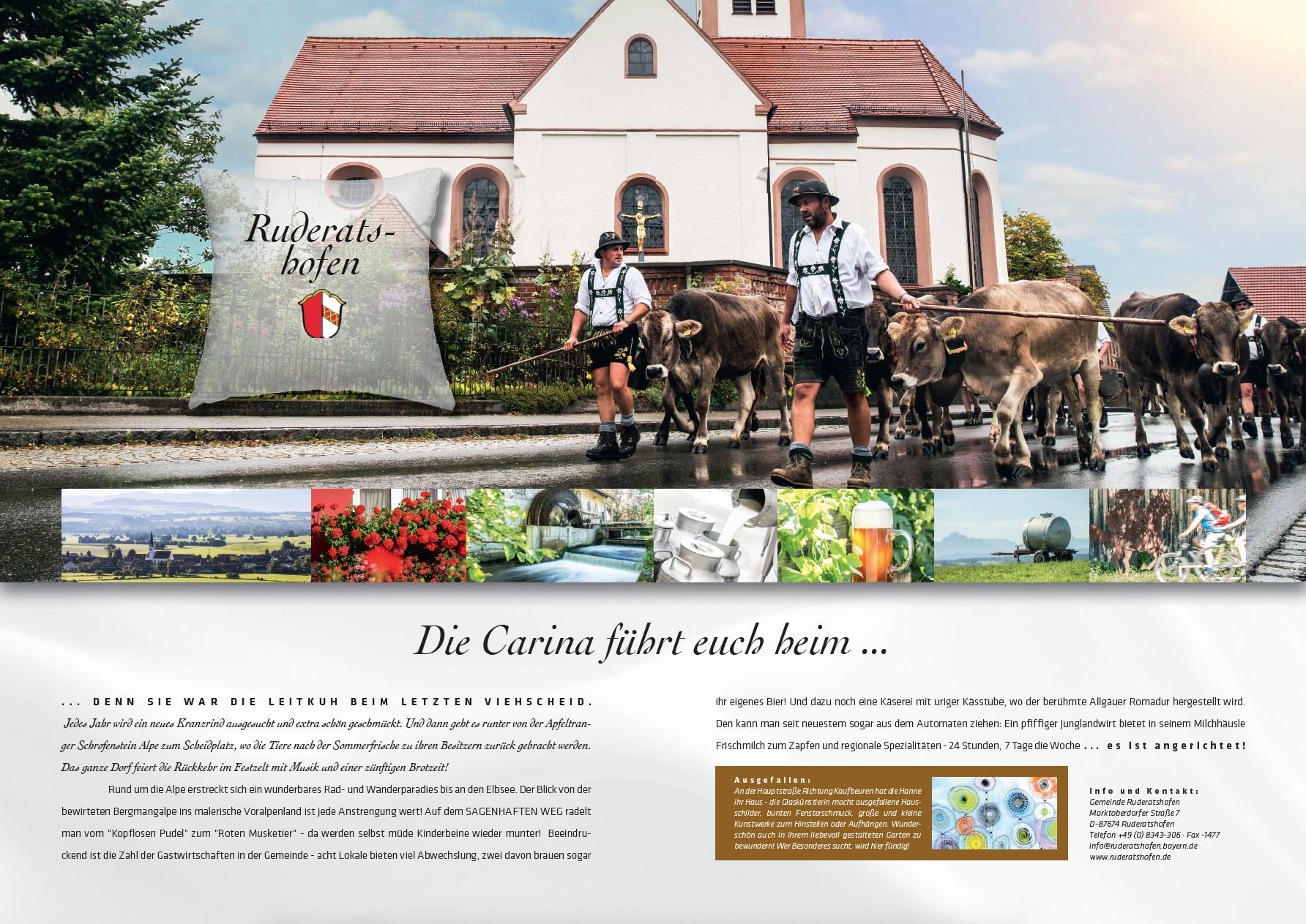 Marktoberdorf - Imagebroschüre