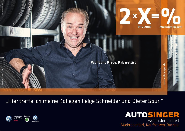 Autohaus Singer, Wolfgang Krebs