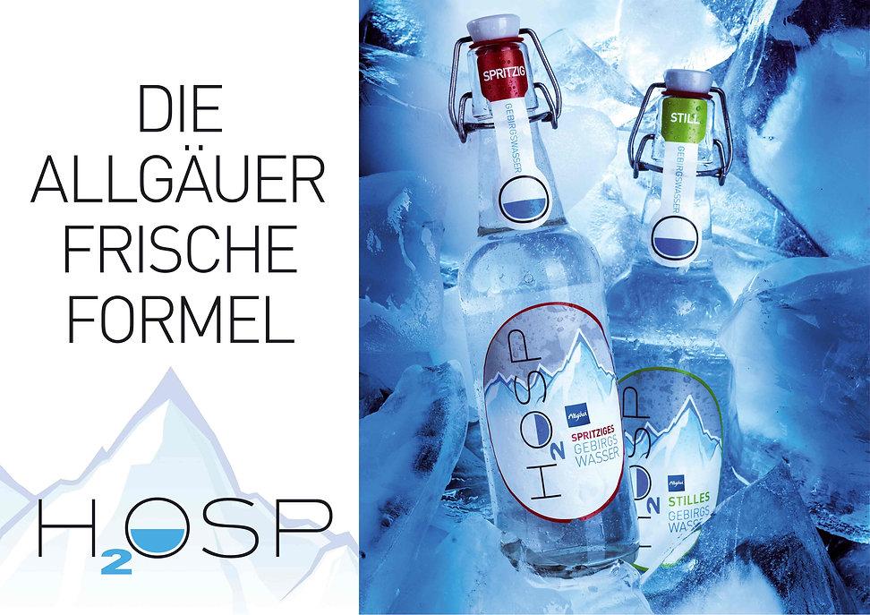 HOSP Weine, H2OSP, die Allgäuer Frischeformel