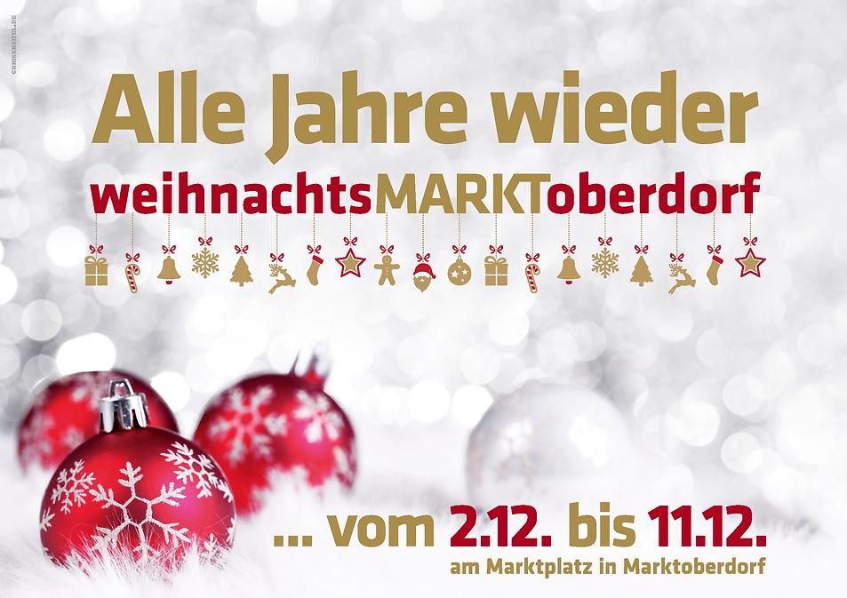 Stadt Marktoberdorf, Weihnachtsmarkt 2016, Alle Jahre wieder