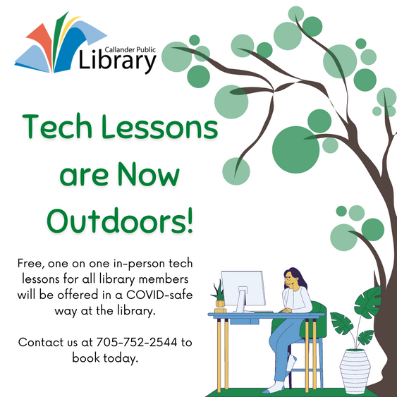 Tech Lessons are Now Outdoors!