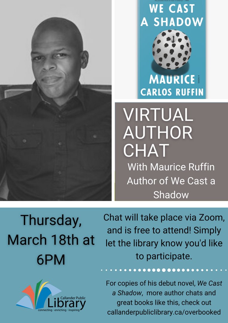 Maurice Carlos Ruffin Virtual author cha