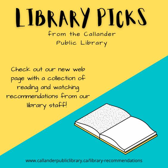 Library Picks!