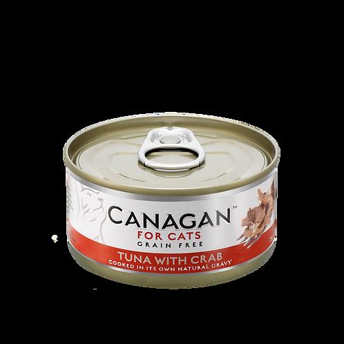 Canagan Cat Tin Tuna Crab 75g