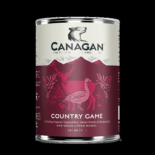 Canagan Dog Tin Country Game 400g
