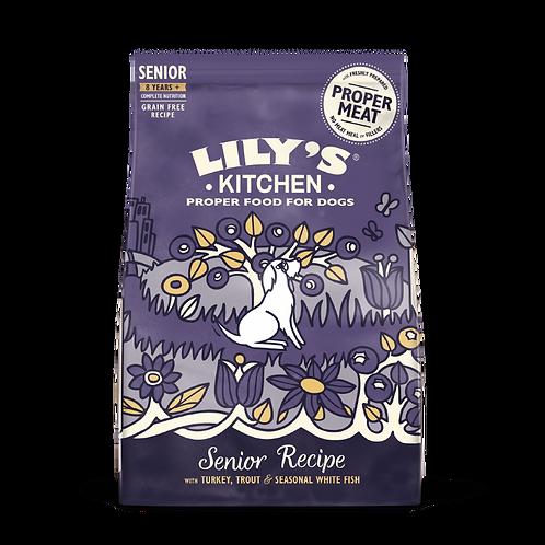 Lilys Kitchen Dog Dry Senior Recipe 1kg