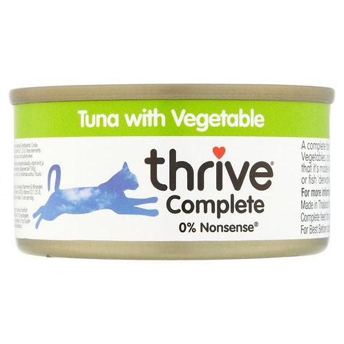 Thrive Cat Tin Tuna & Vegtable 75g