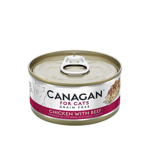 Canagan Cat Tin Chicken Beef 75g
