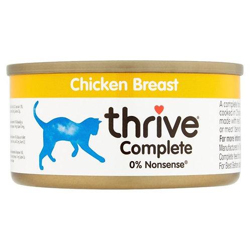 Thrive Cat Tin Chicken 75g