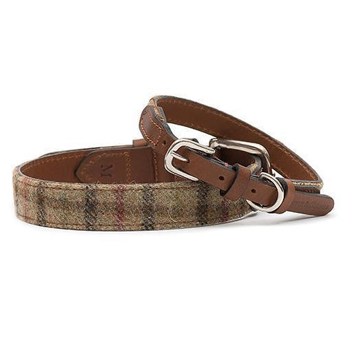 Mutts & Hounds Collar Balmoral Tweed