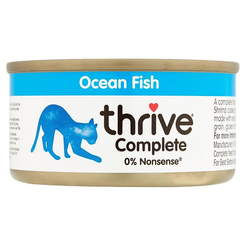 Thrive Cat Tin Ocean Fish 75g