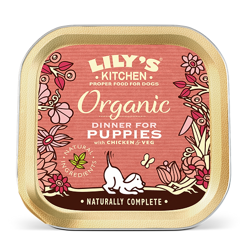 Lilys Kitchen Dog Tray Puppy 150g