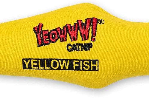Yeowww Catnip Yellow Fish