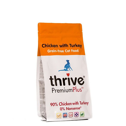 Thrive Cat Dry Chicken Turkey 1.5Kg