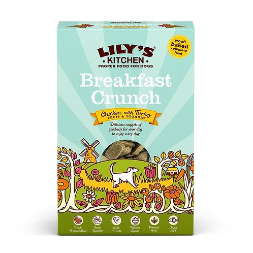 Lilys Kitchen Dog Dry Breakfast Crunch 800g