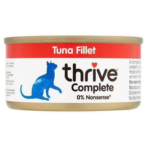 Thrive Cat Tin Tuna Fillet 75g