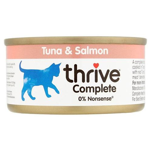 Thrive Cat Tin Tuna & Salmon 75g