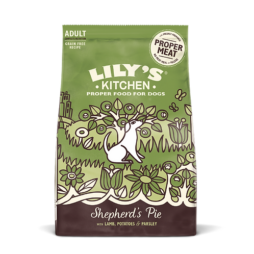 Lilys Kitchen Dog Dry Lovely Lamb 1kg