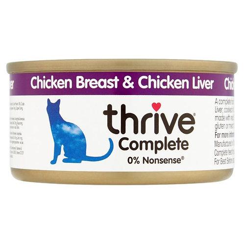 Thrive Cat Tin Chicken Liver 75g