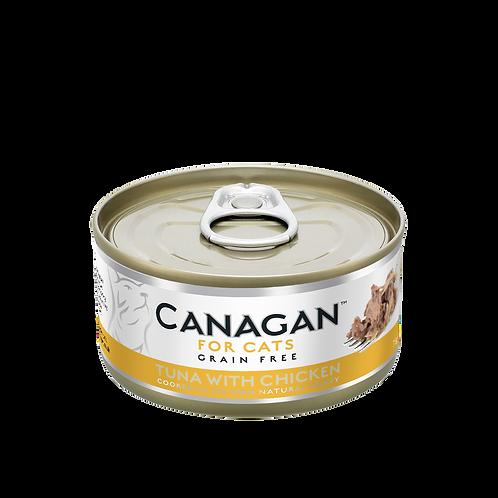 Canagan Cat Tin Tuna Chicken 75g