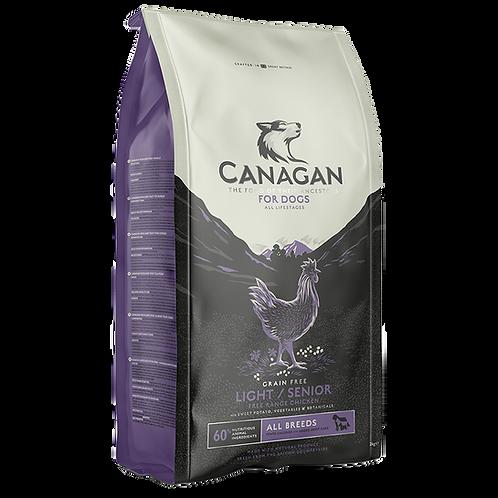 Canagan Dog Dry Light Senior Free Run Chicken 2kg