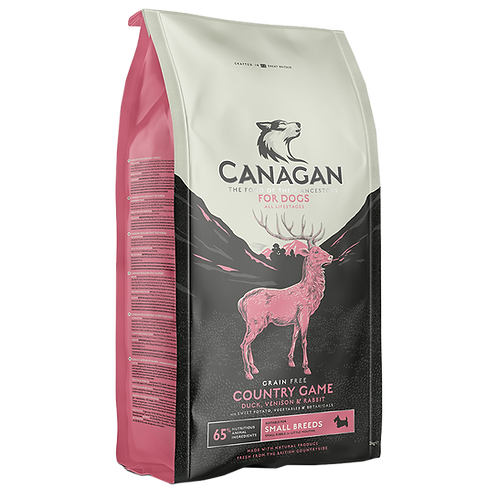 Canagan Dog Dry Country Game Small Breed 2kg