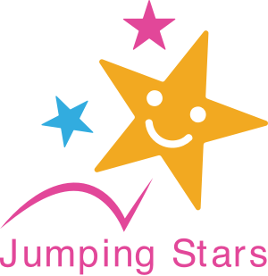 a star that its jumping, a jumping star for mobile creche, creches in london, on -site childcare , childcare options, mobile nursery