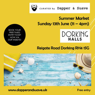 Curated by Dapper & Suave - BOOK  NOW -