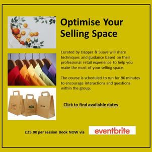 Optimise Your Selling Space Training