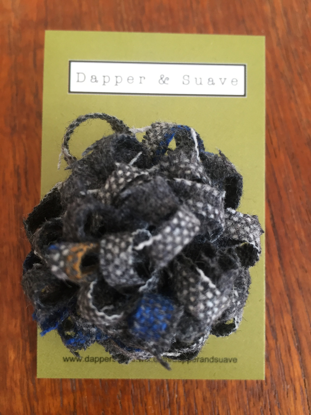Dapper & Suave Tweed Lapel Pin