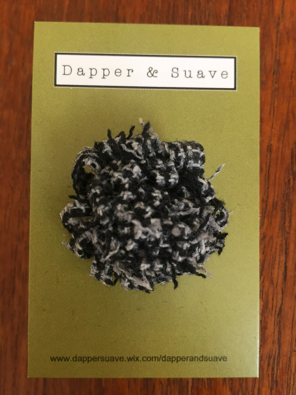 Dapper & Suave Tweed Lapel Pin