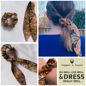 Hair Scarf Scrunchies