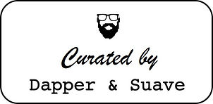 Curated by Dapper & Suave SQUARE 2 line.