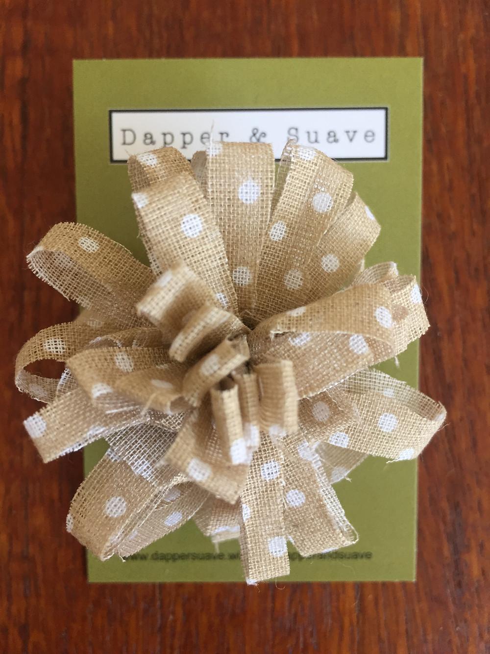 Dapper & Suave Cappucino Spot Lapel Pin
