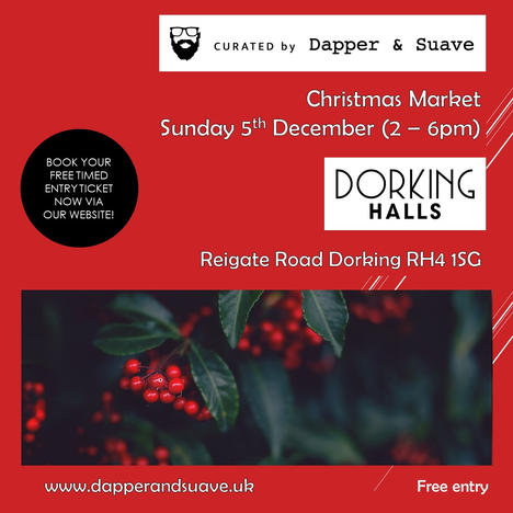 Curated by Dapper & Suave - BOOK NOW Chr
